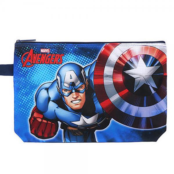 캡틴아메리카 식판도시락가방 이미지